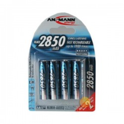 Аккумуляторы ANSMANN 2850 BL4